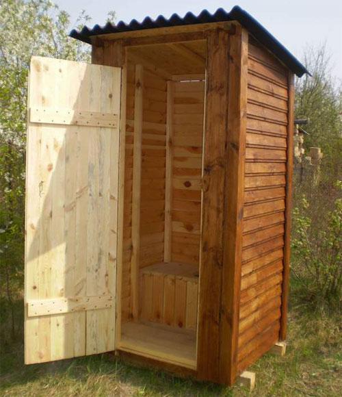 Туалет на дачу фото с размерами